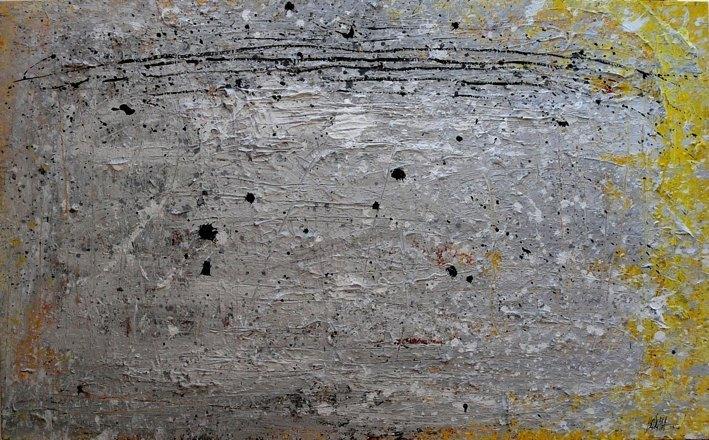 265 - Mixed technique on wood 100 X 162 cm