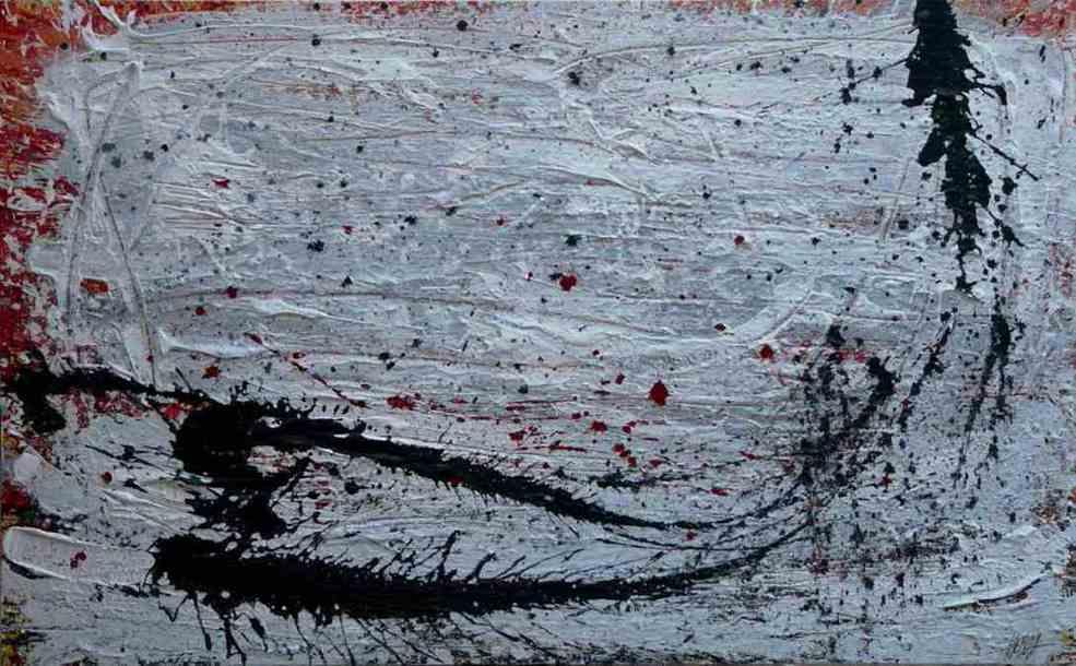282 - Técnica mixta sobre madera 162 x 100 cm