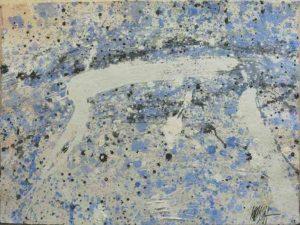 312 - Tècnica mixta sobre cartró 76 x 56 cm