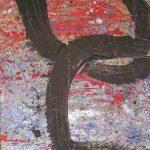 364 - Técnica mixta sobre madera 130 x 194 cm