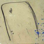 392 - Técnica mixta sobre cartón 75 X 105 cm