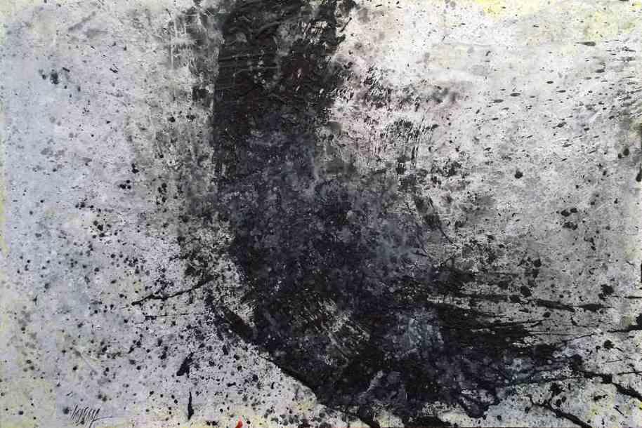 414 - Tècnica mixta sobre llenç 130 x 162 cm