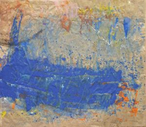 428 - Mixed technique on cardboard 88 X 100 cm
