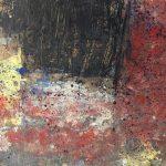 446 - Tècnica mixta sobre fusta 130 x 195 cm 2016