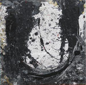 454 - Mixed technique on wood 50 x 50 cm 2016