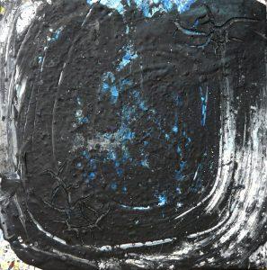 455 - Mixed technique on wood 50 x 50 cm 2016
