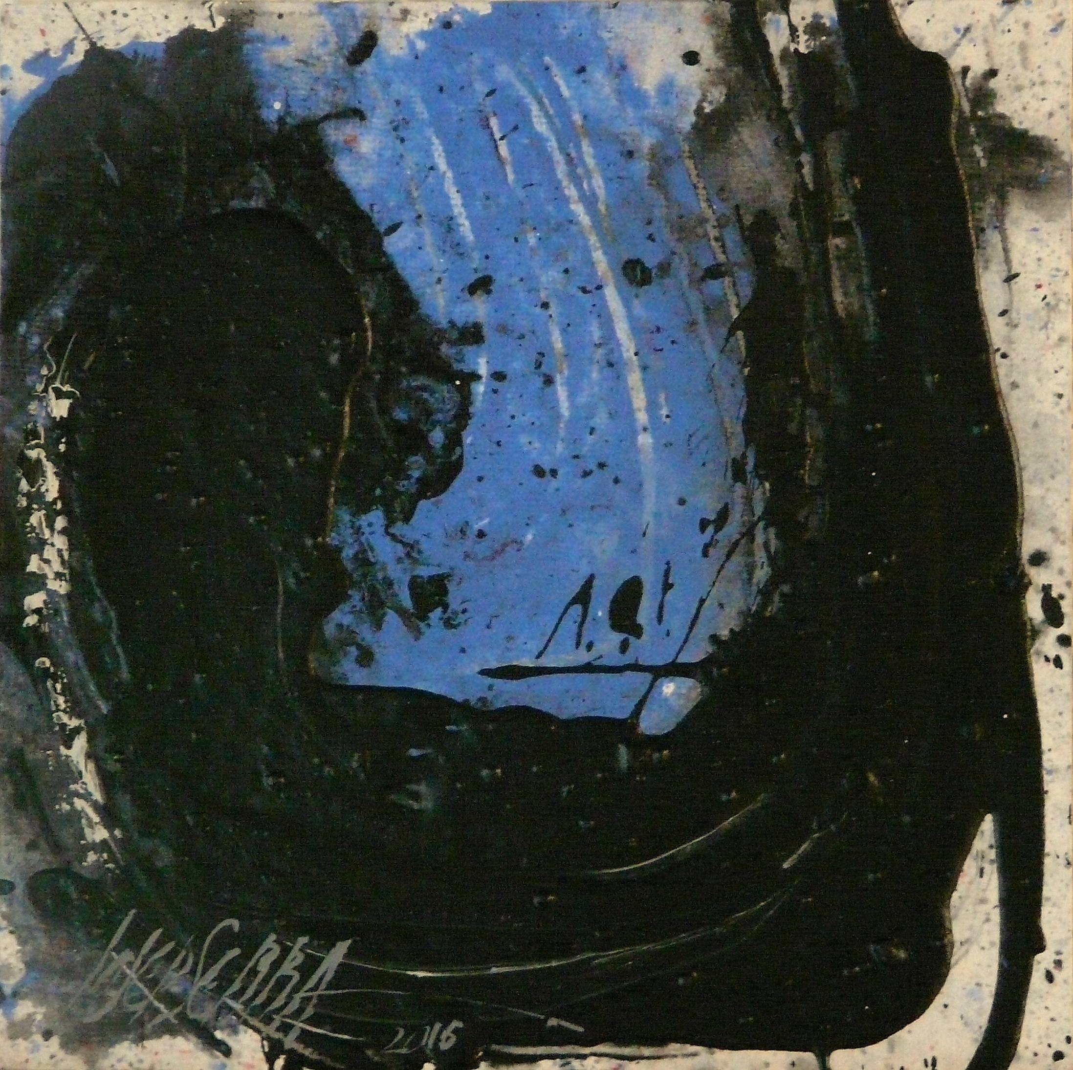 458 - Mixed technique on paper 21 x 29,5 cm 2016
