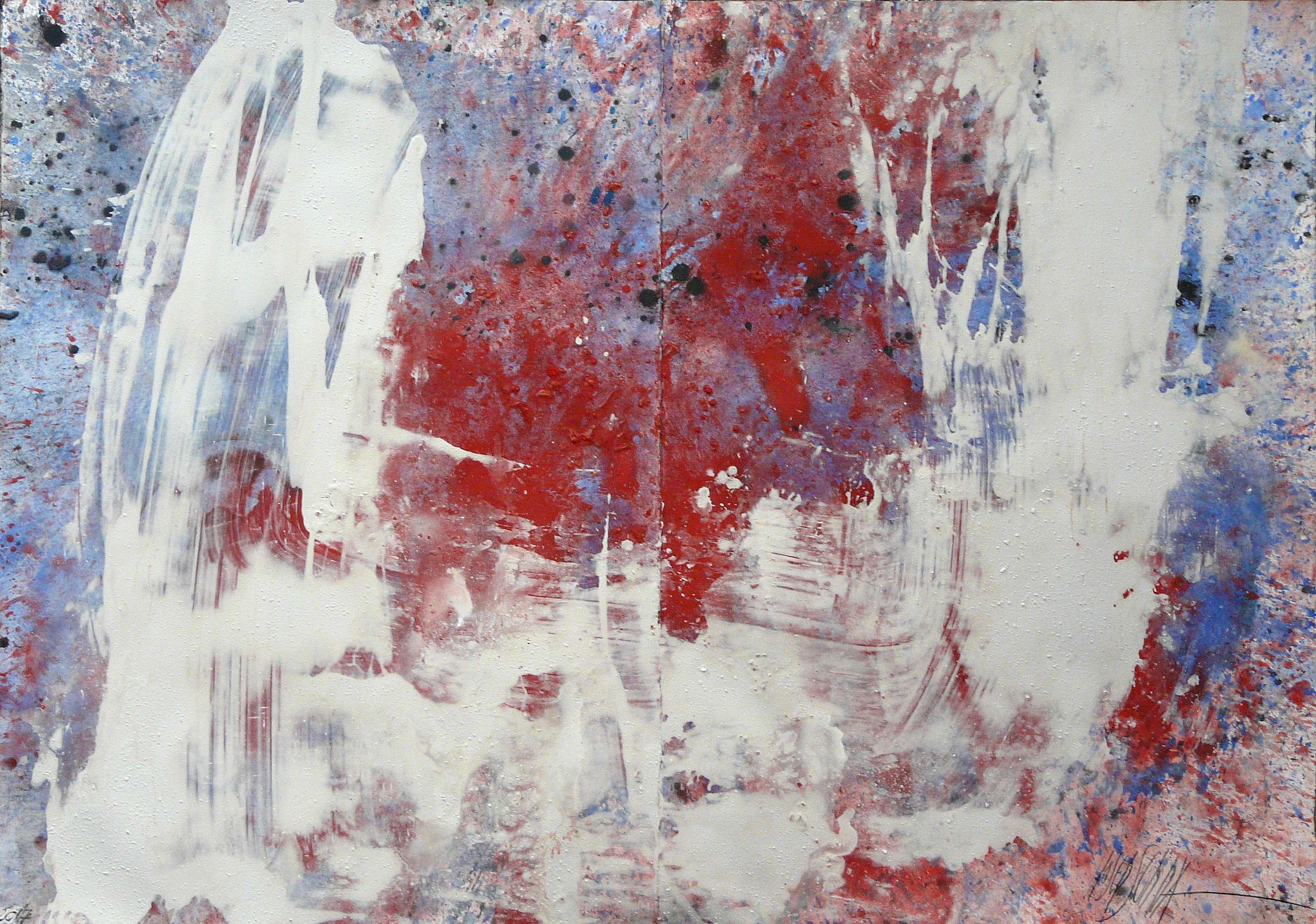 479 - Mixed technique on paper 100 x 141 cm 2017