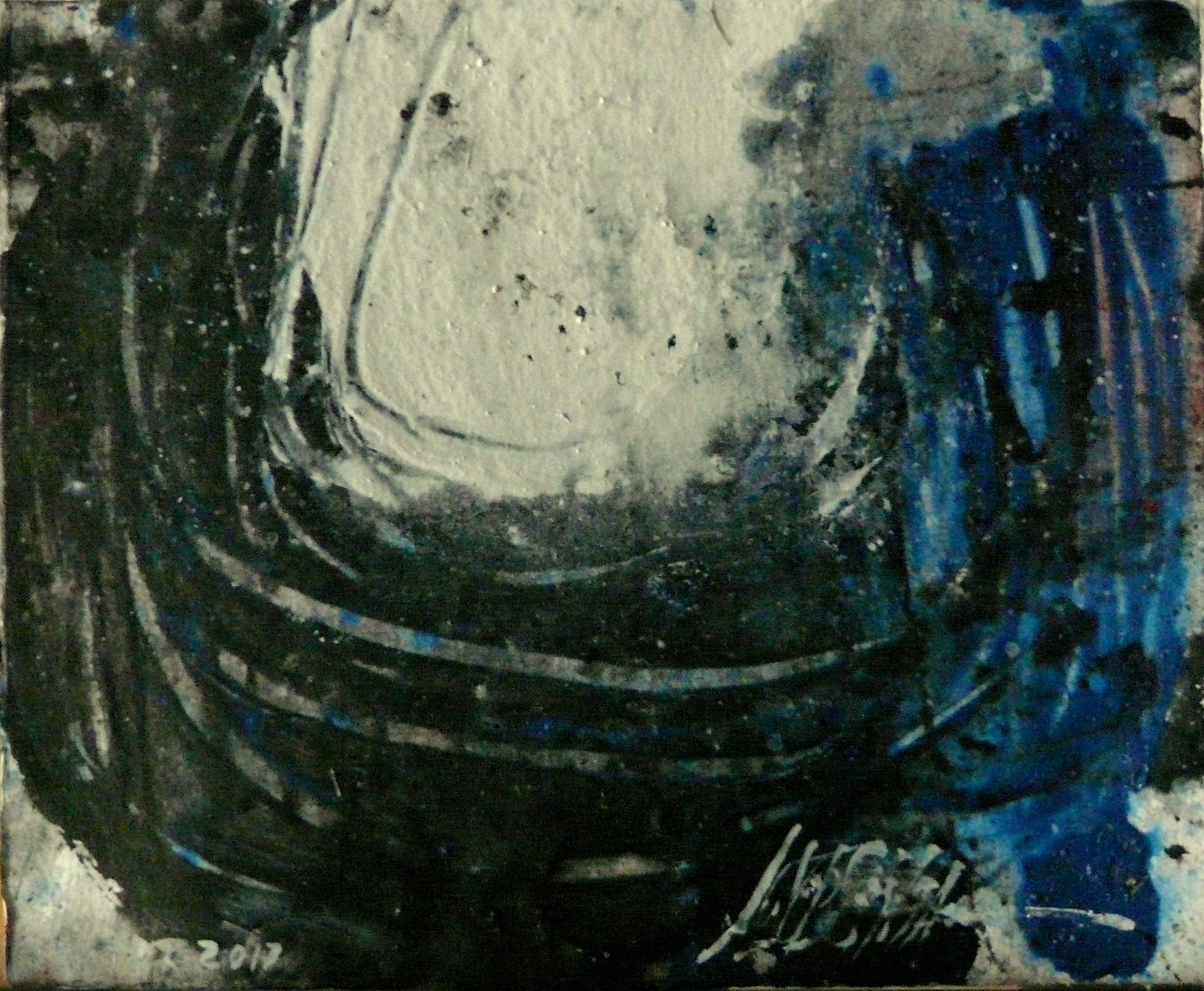 489 - Mixed technique on paper 19 x 22 cm 2017