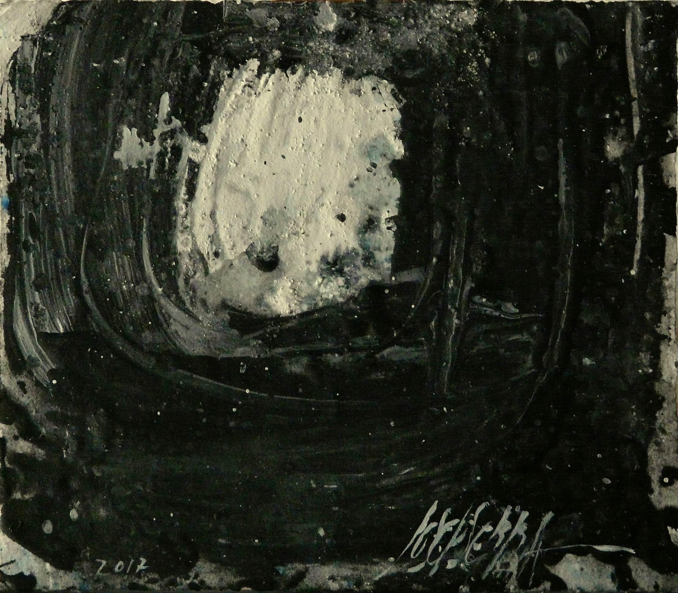 493 - Mixed technique on paper 19 x 22 cm 2017